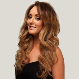 Charlotte Crosby 20″ Clip in Hair Extensions